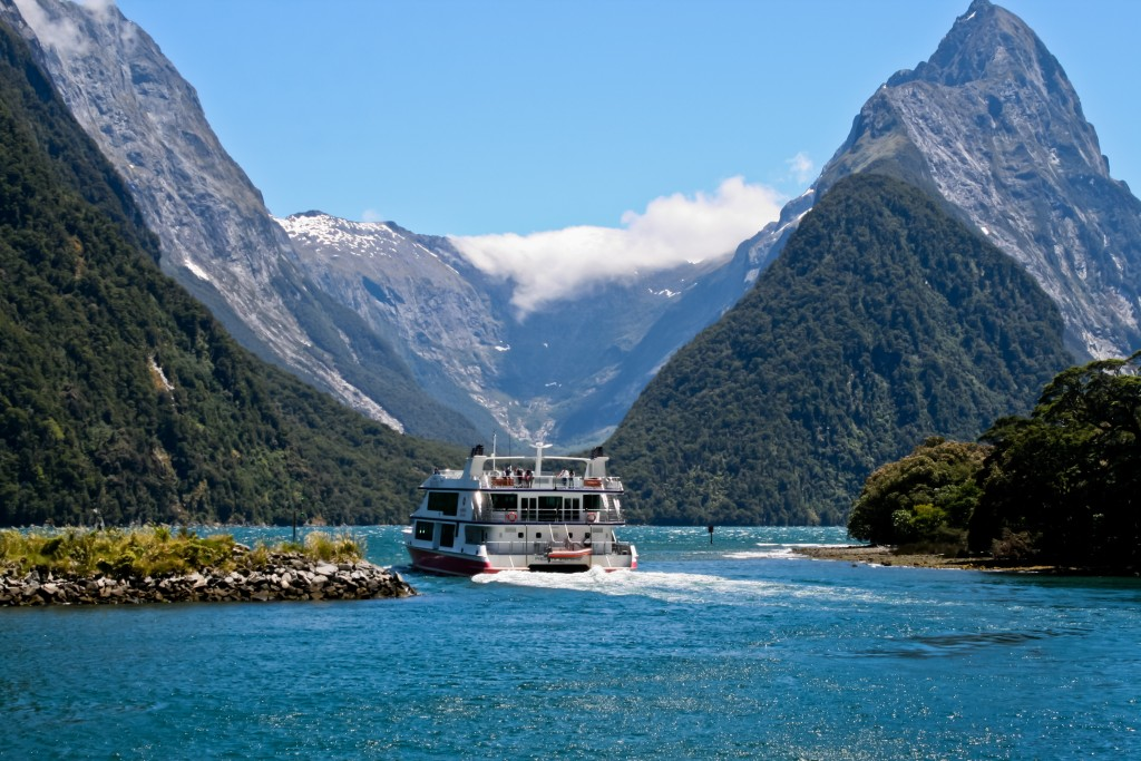 ニュージーランドの景色