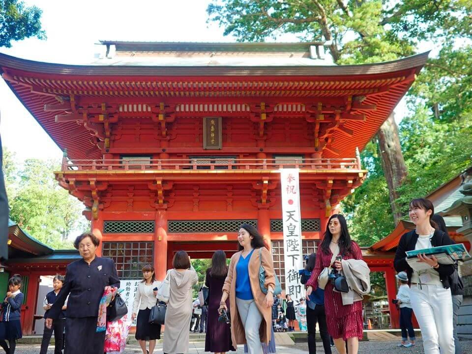 鹿島神宮 楼門